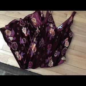 Gorgeous velvet nightgown